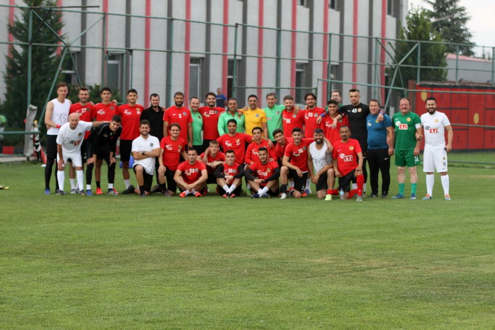 Boluspor maçı hazırlıklarımız tamamlandı