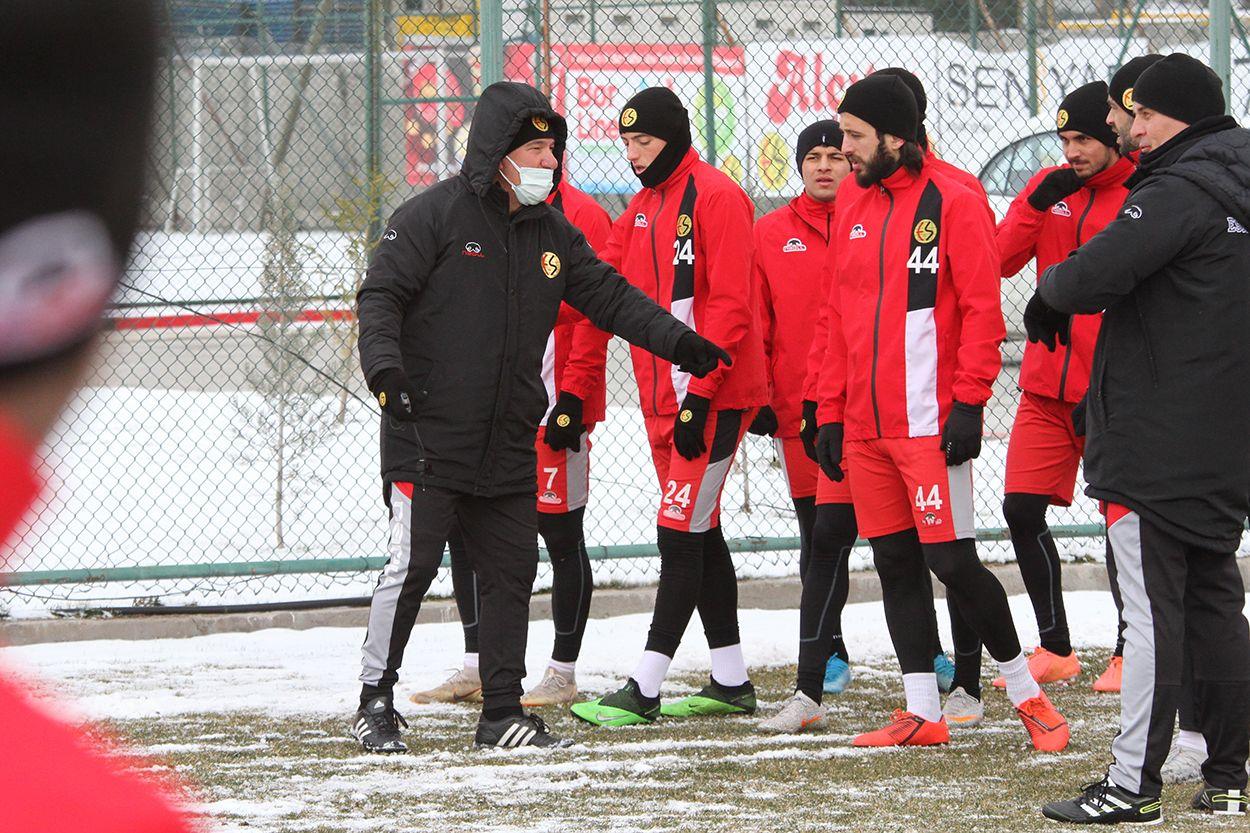 Bandırmaspor maçı hazırlıkları sürüyor