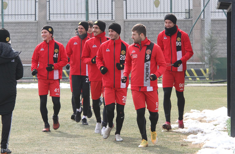 Samsunspor maçı hazırlıkları başladı