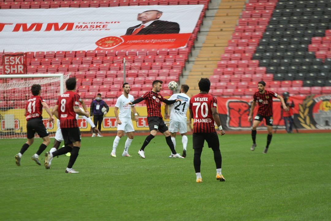 Eskişehirspor 0 - 2 Tuzlaspor
