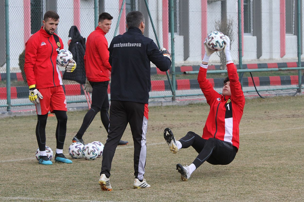 Eskişehirspor'da Altay hazırlıkları başladı