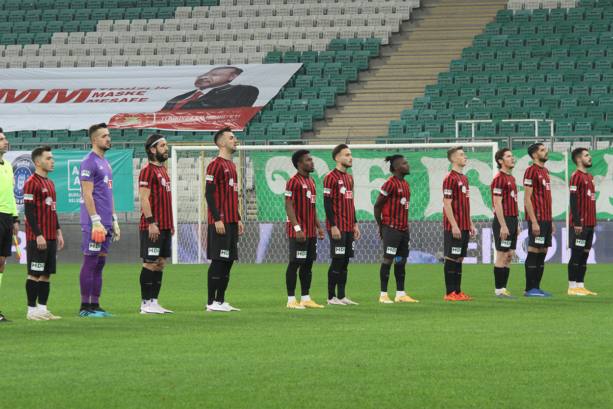 Bursaspor:2 Eskişehirspor:1