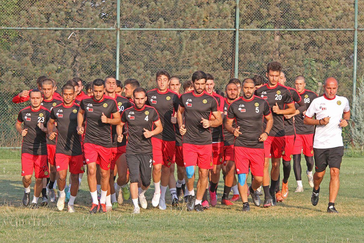 Eskişehirspor Karacabey hazırlıklarına başladı