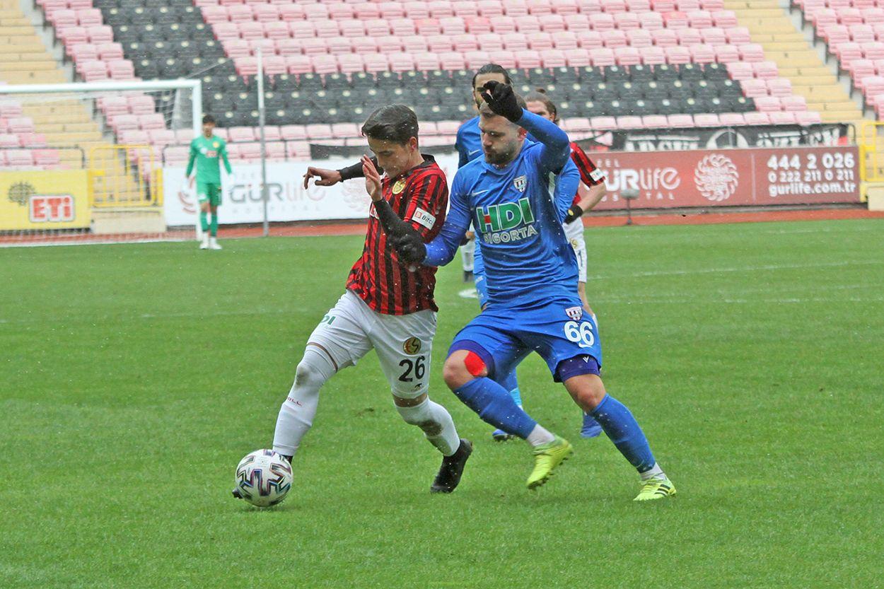 Eskişehirspor 2 - 1 Bandırmaspor