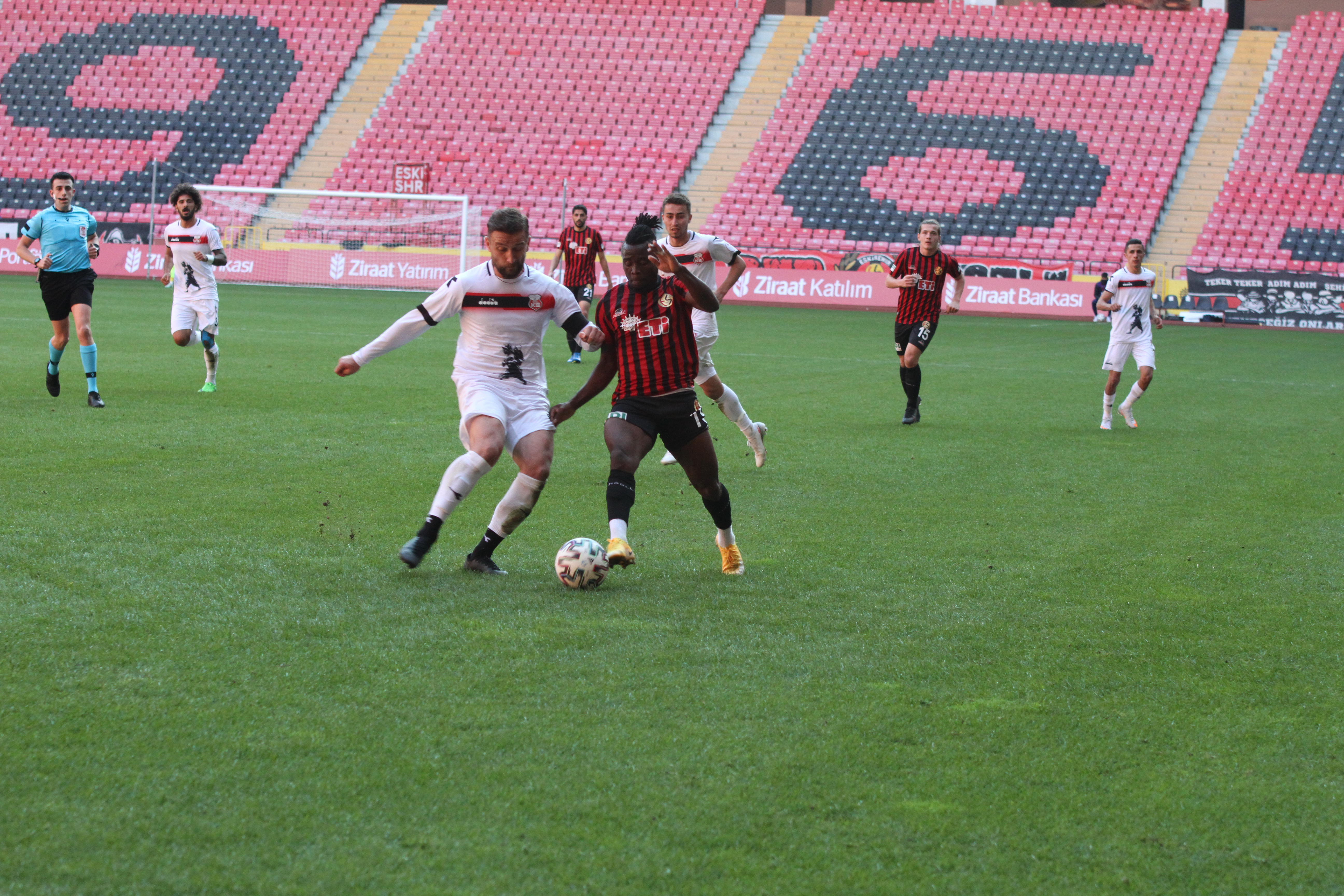 Eskişehirspor:2 GMG Kastamonuspor:0