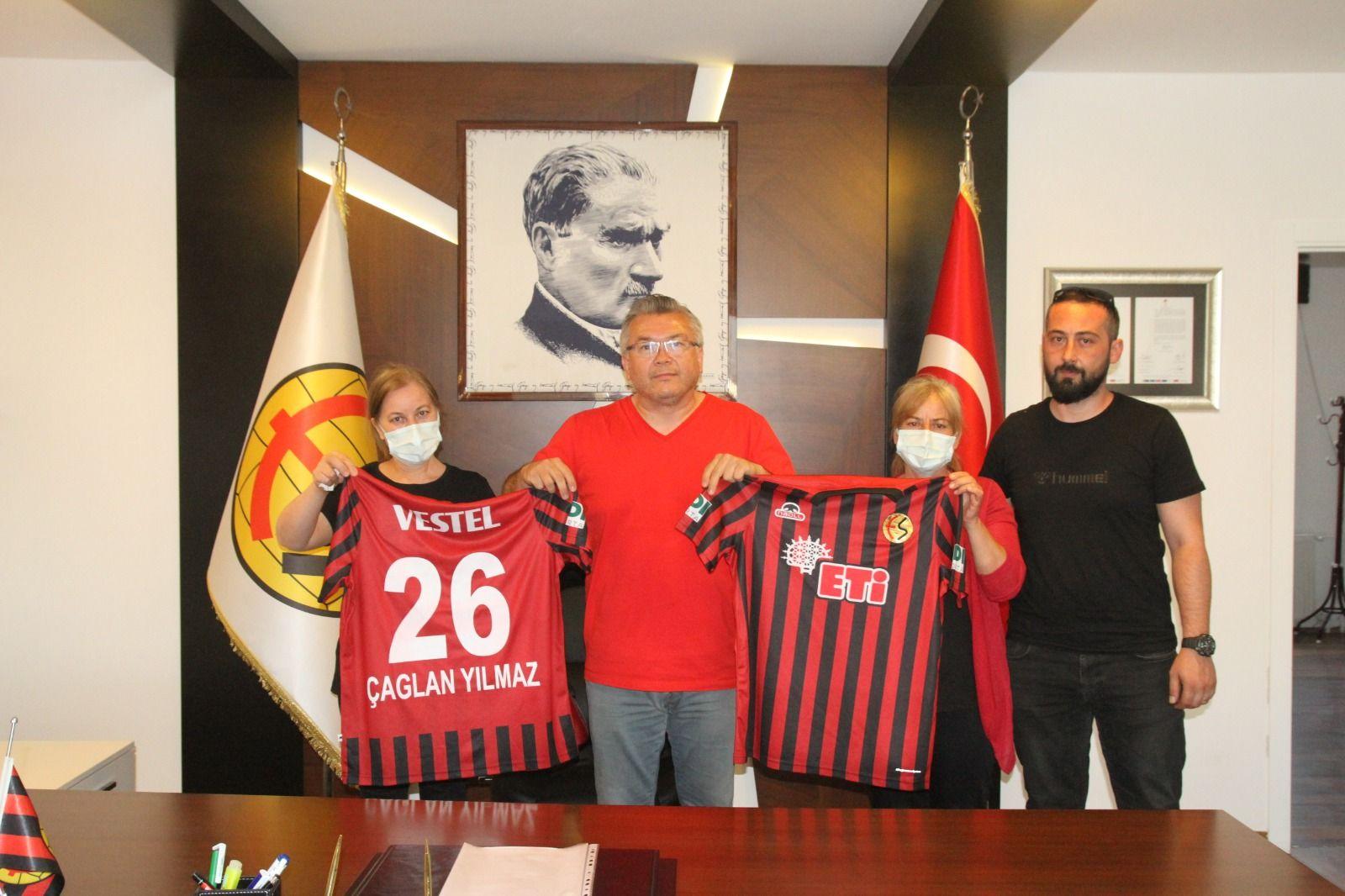 Eskişehirspor Tesisleri'nde hüzünlü buluşma!