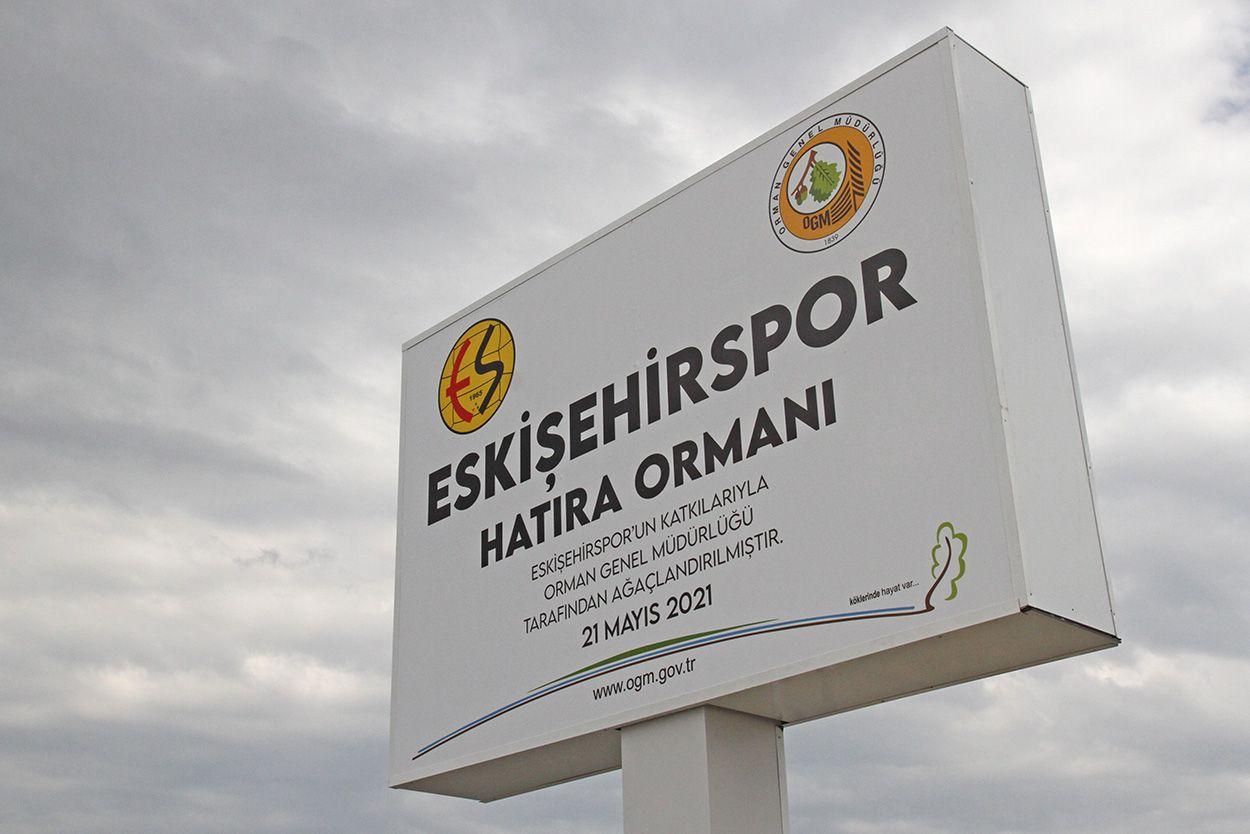 Eskişehirspor fidan bağışında canlı rakamlar burada