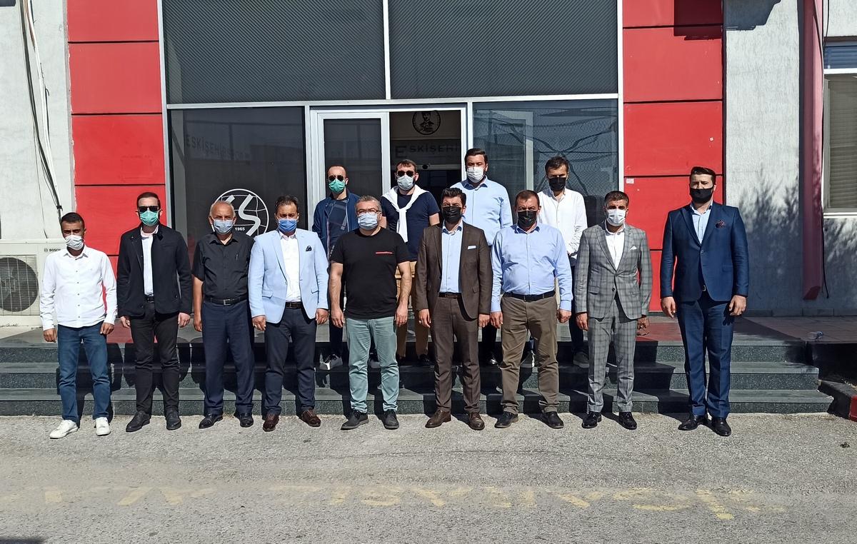 AK Parti Tepebaşı İlçe Başkanlığı'ndan Kulübümüze Ziyaret
