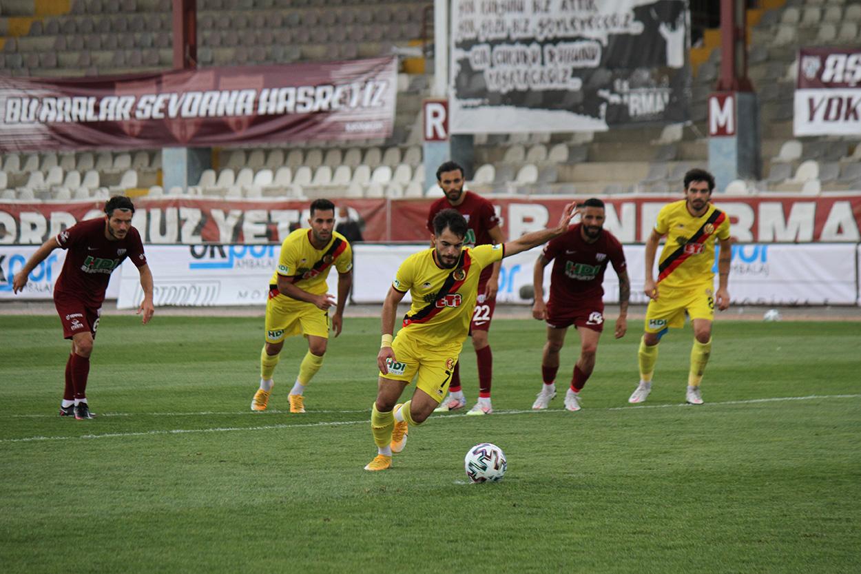 Royal Hastanesi Bandırmaspor: 1 Eskişehirspor: 1
