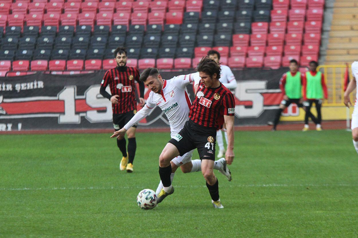 Eskişehirspor 0 - 2 Boluspor