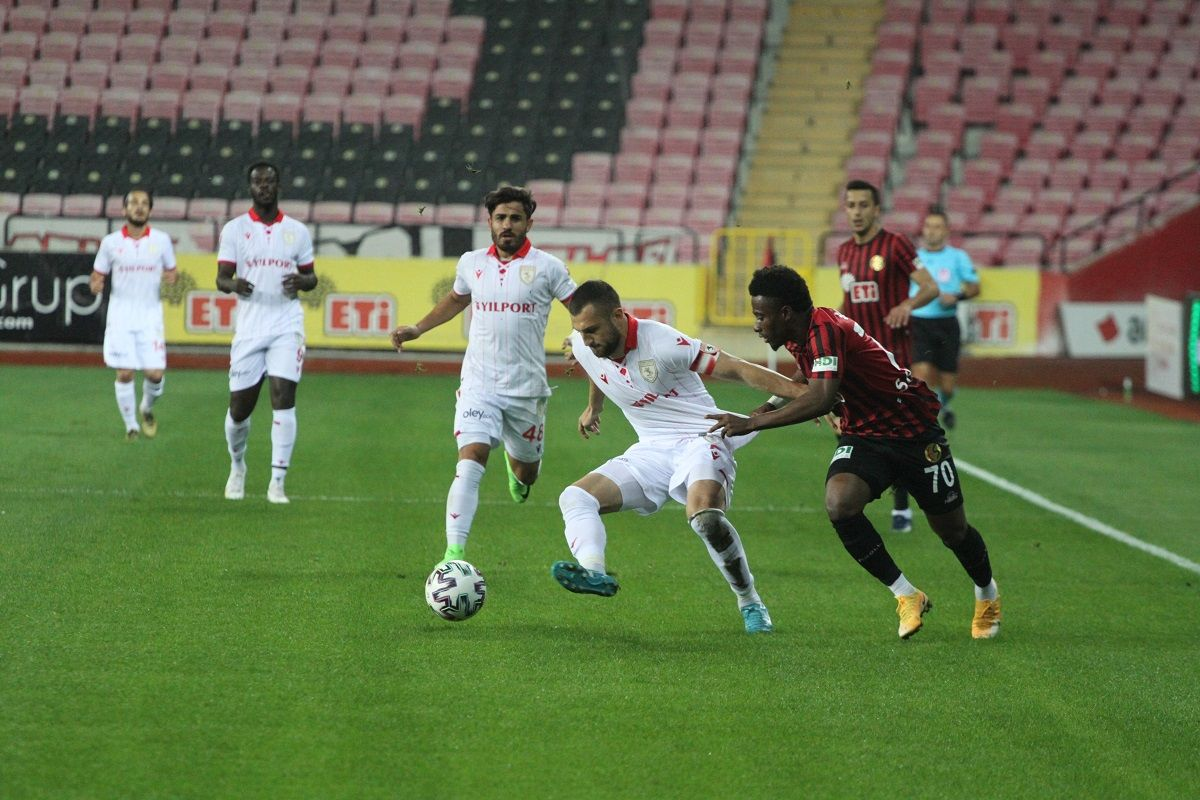 Eskişehirspor 0 - 1 Samsunspor