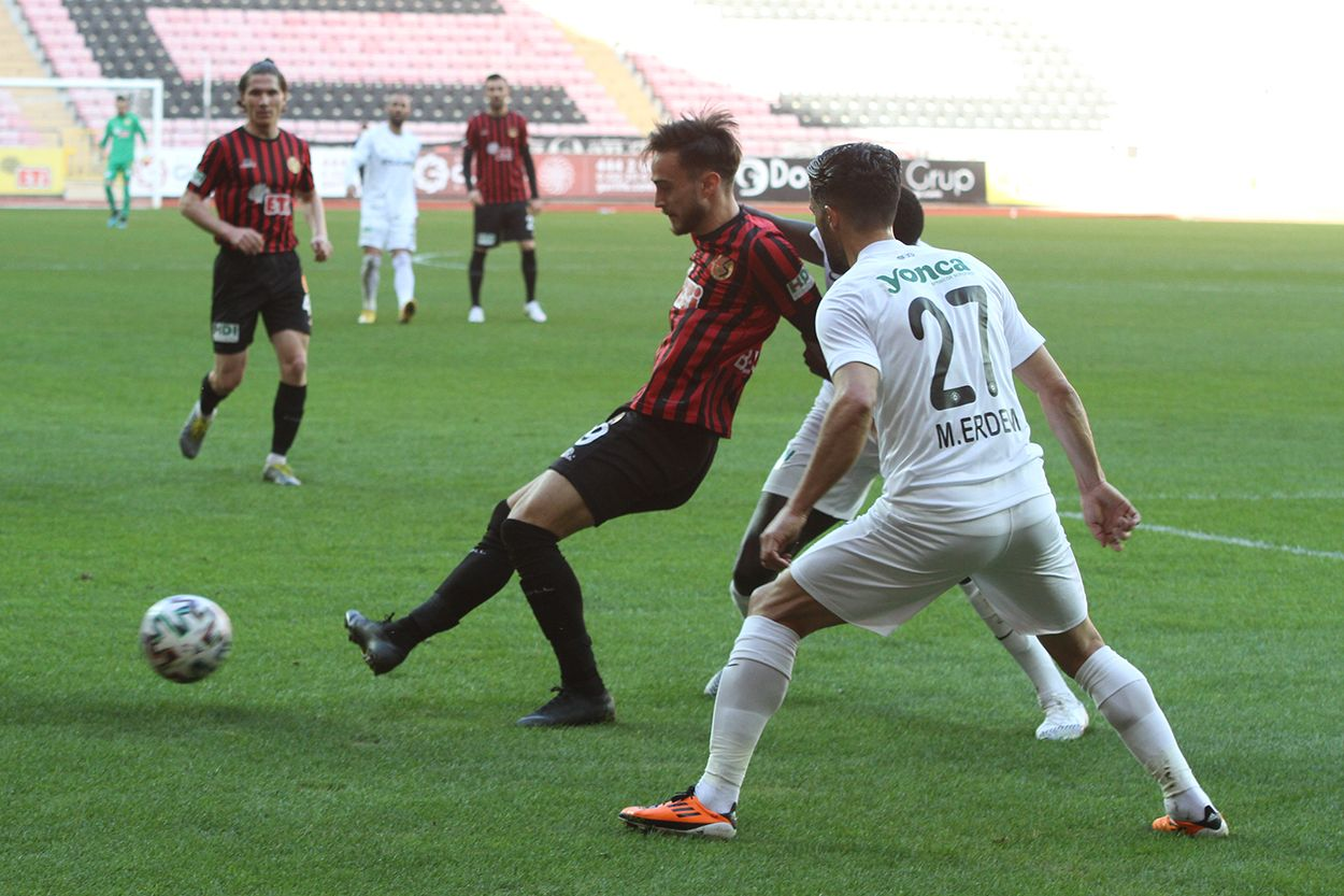 Eskişehirspor 0 - 5 Altay