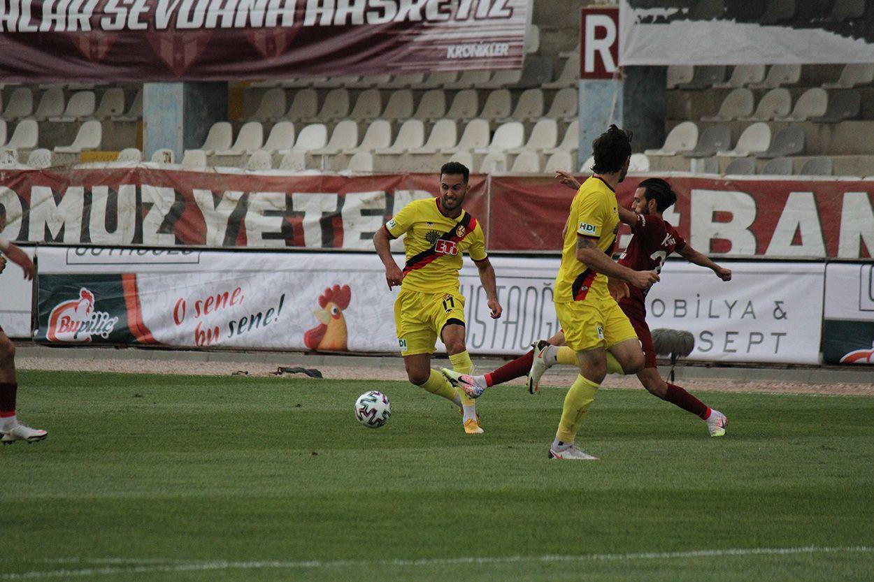 Bandırmaspor 1 - 1  Eskişehirspor
