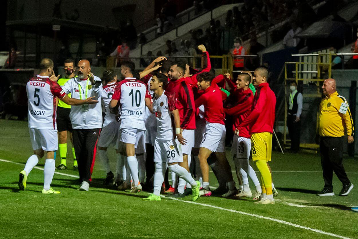 Karacabey 1 - 2 Eskişehirspor