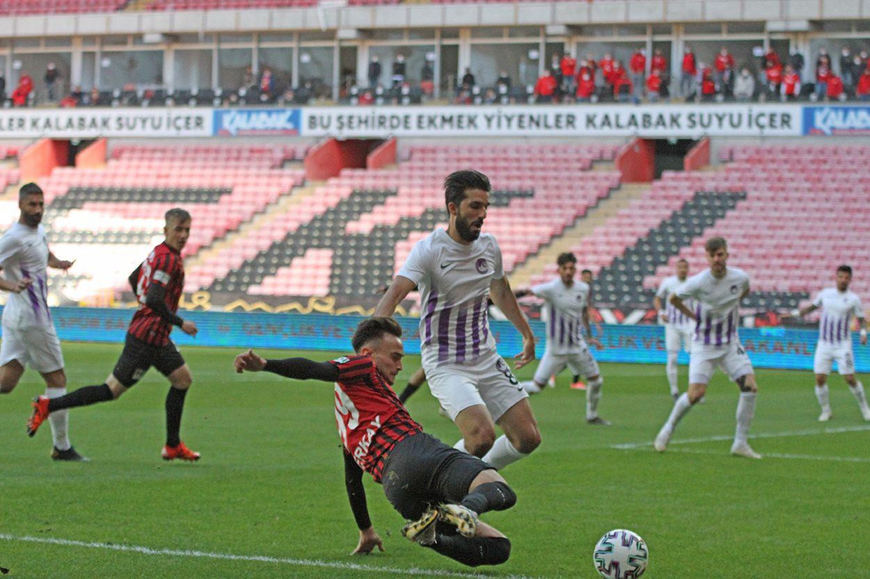 Eskişehirspor 2 - 2 Keçiörengücü