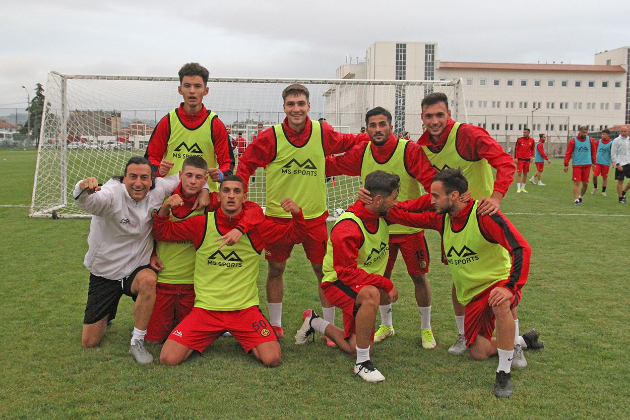 Eskişehirspor'da Pazarspor maçı hazırlıkları başladı