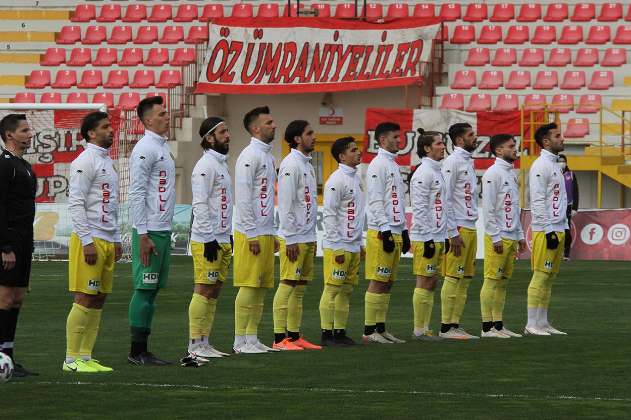 Ümraniyespor:3 Eskişehirspor:0
