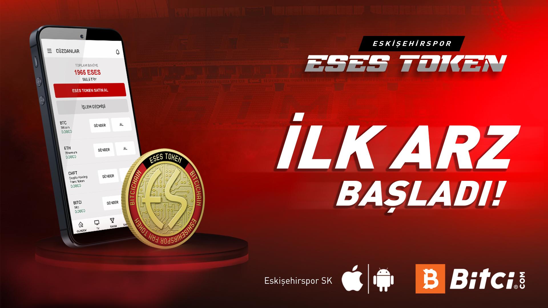 Eskişehirspor'da ilk arz başladı