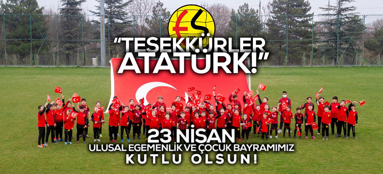 23 Nisan Ulusal Egemenlik ve Çocuk Bayramımız Kutlu Olsun