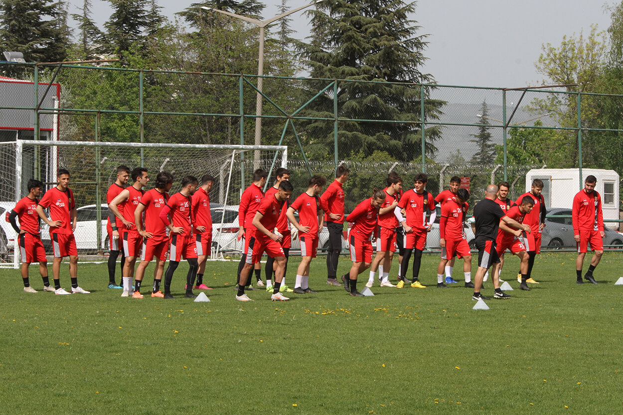 Boluspor maçı hazırlıklarımız başladı