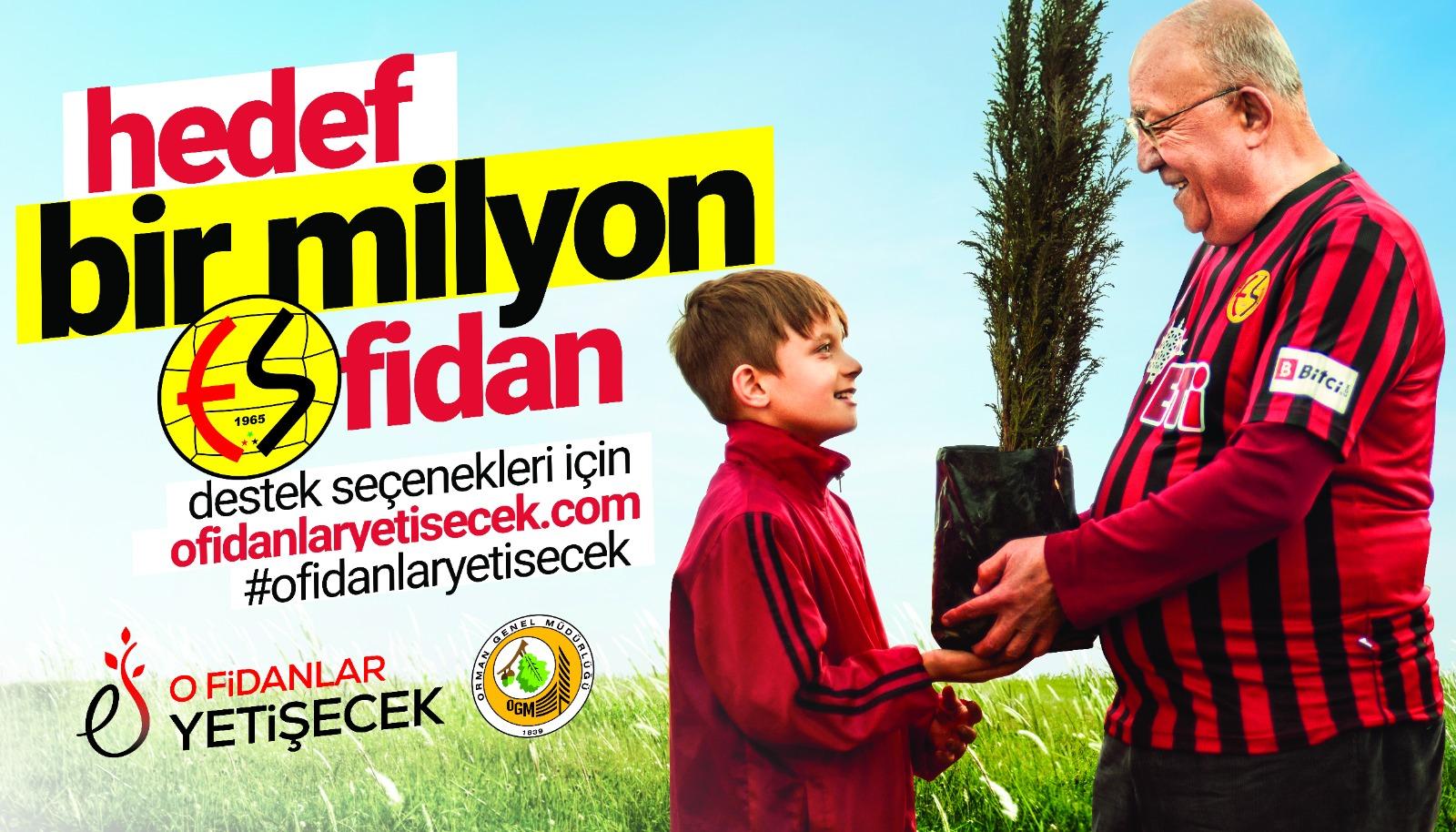 Eskişehirspor Hatıra Ormanı'nın ilk fidanı dikiliyor