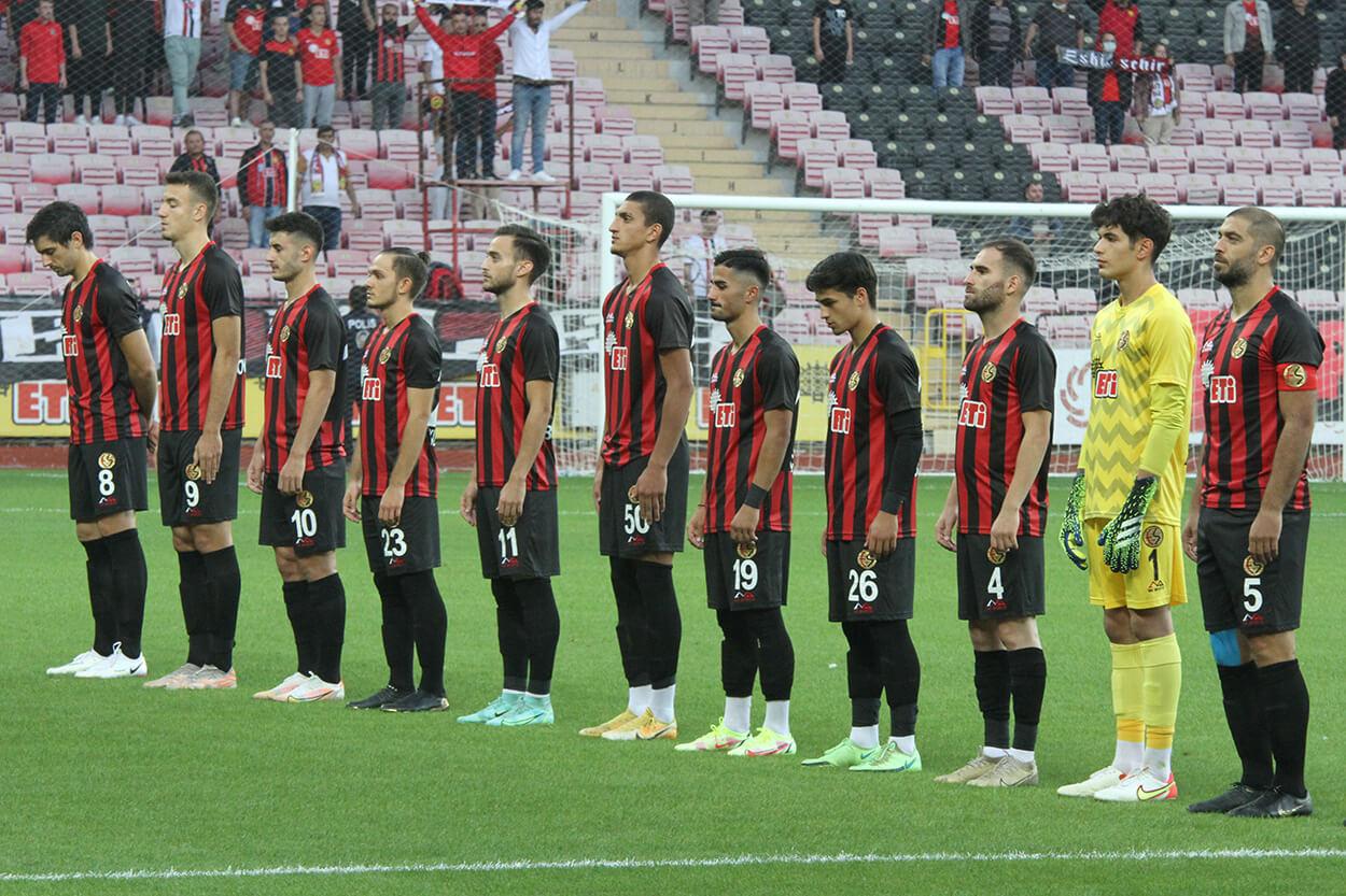 Eskişehirspor:0 Şanlıurfaspor:0