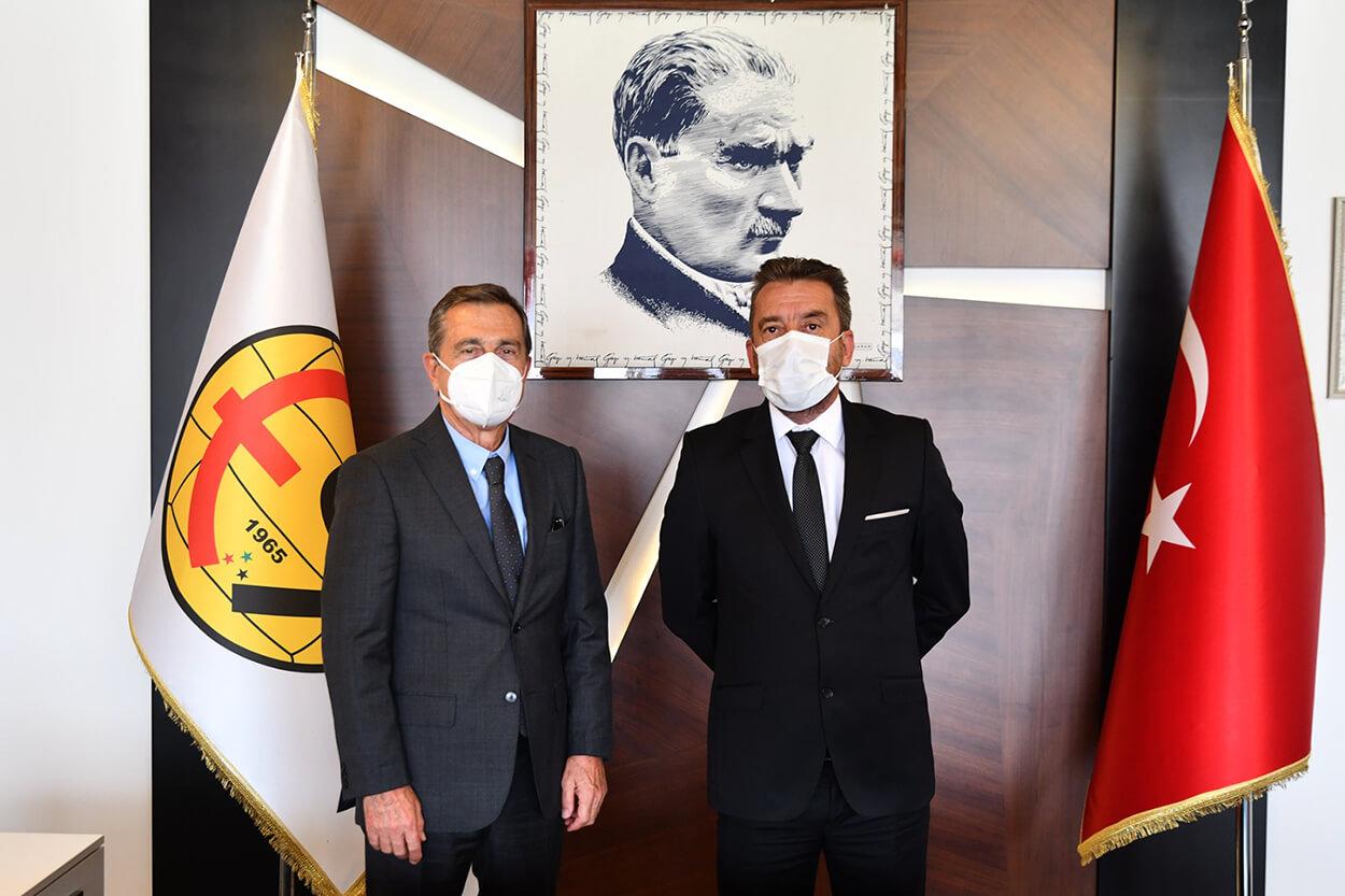 Başkan Ahmet Ataç'tan Kulübümüze Ziyaret