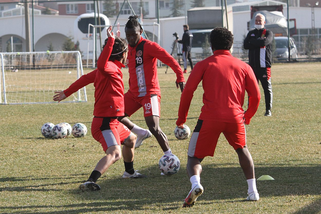 İstanbulspor maçı hazırlıkları sürüyor